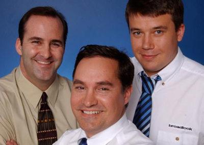 Dan, Donato & Igor, Founders of Broadlook