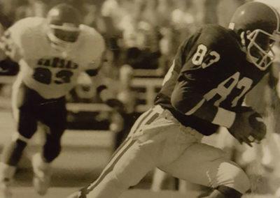 Danny Hughes, Kansas State vs Kansas, 1986